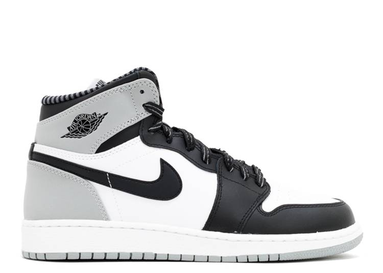 Taccuino ingegnere Fuorilegge  Air Jordan 1 Retro High OG BG 'Barons' - Air Jordan - 575441 104 - white/ black-wolf grey | Flight Club