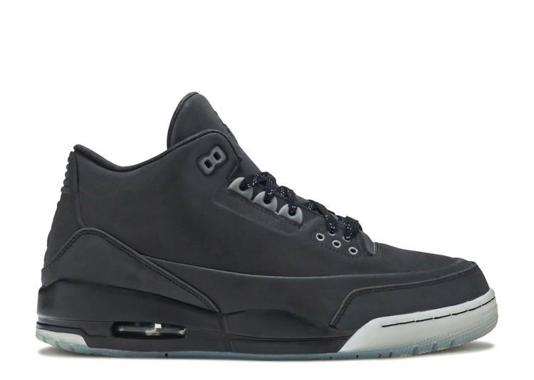Air Jordan 3 5Lab3 'Reflective Black'