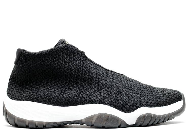 jordan future black low