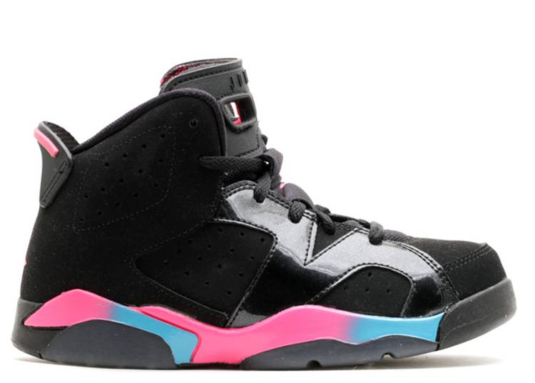 girls jordann 6 retro (ps)