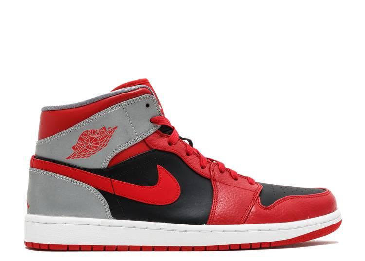 Air Jordan 1 Mid 'Fire Red'