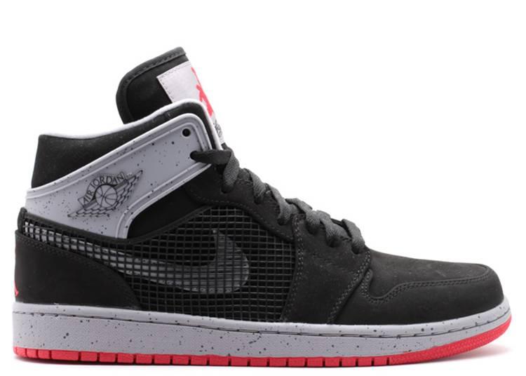Air Jordan 1 Retro 89 'Black Fire Red Cement'