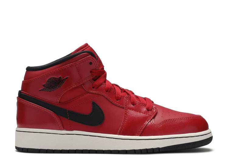 Air Jordan 1 Retro Mid GS 'Gym Red'