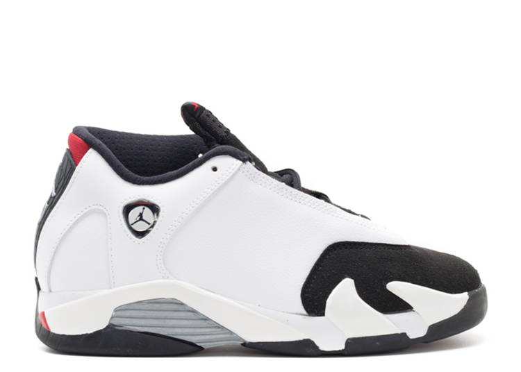 Air Jordan 14 Retro BP 'Black Toe' 2014