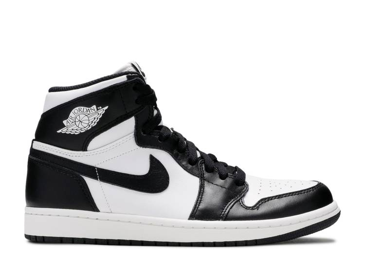 "air jordan 1 retro high og ""Black White"""