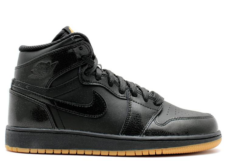 Air Jordan 1 Retro BG 'Black Gum'