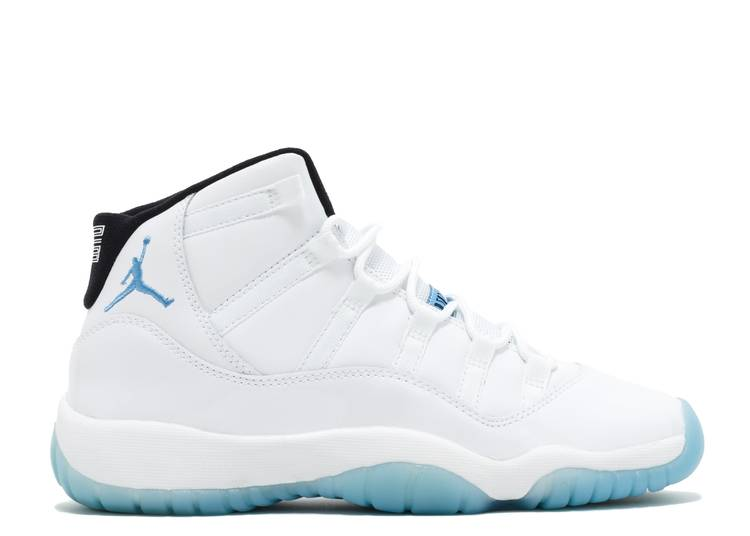 "air jordan 11 retro bg (gs) ""legend blue"""