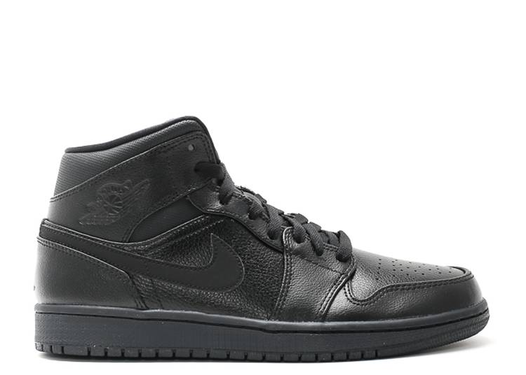 Air Jordan 1 Mid 'Black'