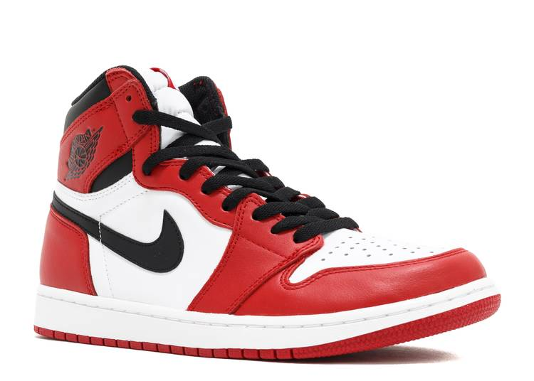 Pedir prestado Puerto marítimo Tregua  Air Jordan 1 Retro High OG 'Chicago' 2015 - Air Jordan - 555088 101 -  white/black-varsity red | Flight Club