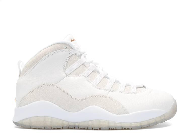 OVO x Air Jordan 10 Retro 'White'