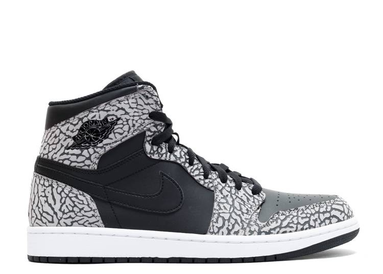 Air Jordan 1 Retro High 'Black Elephant'