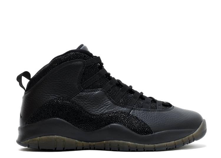 OVO x Air Jordan 10 Retro 'Black'