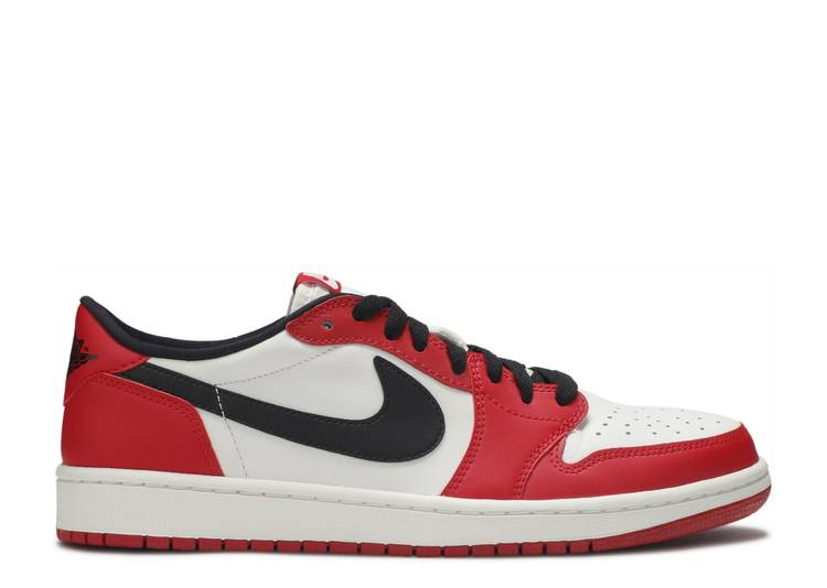 Intacto Nominal Personal  Air Jordan 1 Retro Low OG 'Chicago' - Air Jordan - 705329 600 - varsity red/black-white  | Flight Club