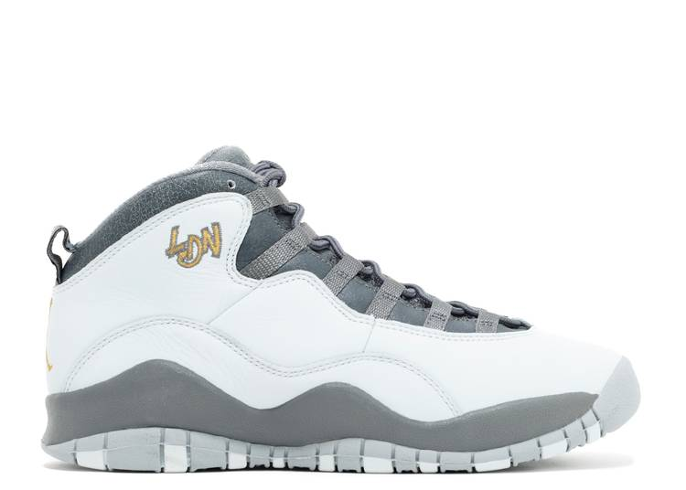 Air Jordan 10 Retro BG 'London'