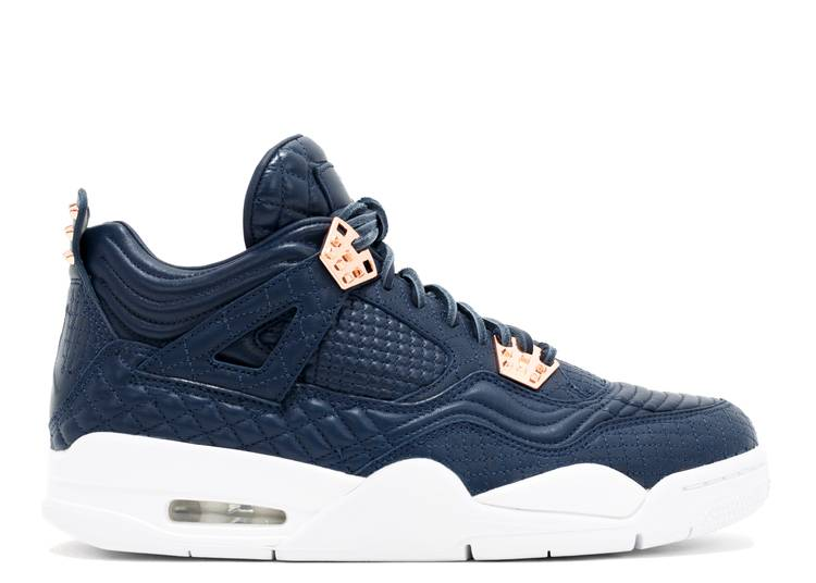 Air Jordan 4 Retro PRM 'Obsidian'