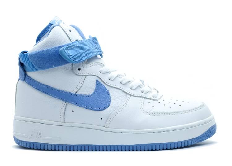 Air Force 1 High B Nike 624038 141 White Columbia Blue