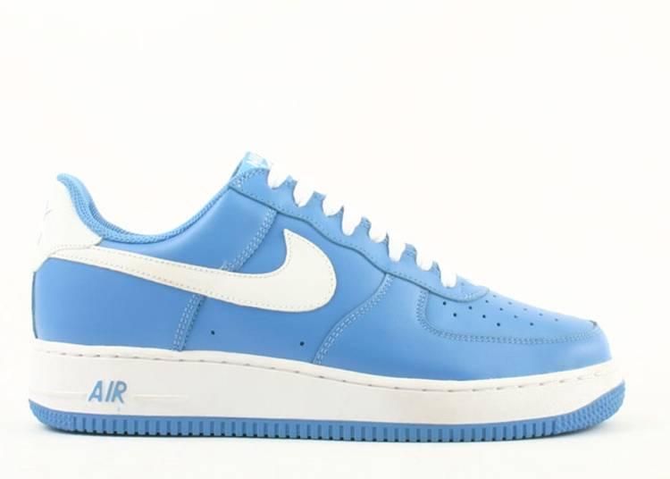 nike air force 1 university blu e bianche