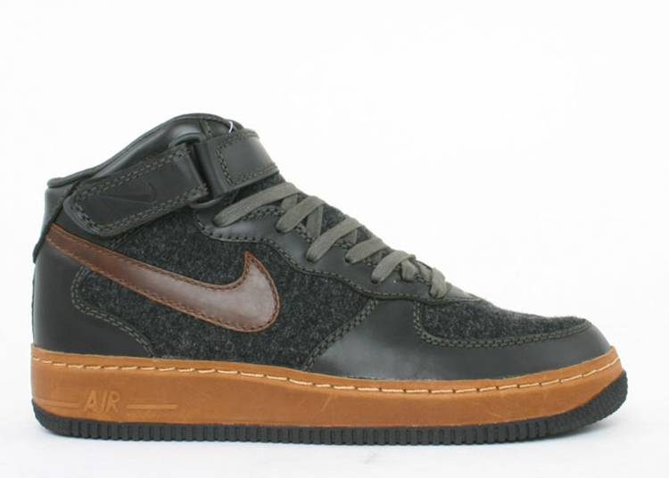 Air Force 1 Mid Insideout 'Anthracite Sable Green'