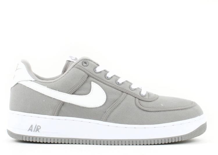 Air Force 1 Canvas - Nike - 306349 011 - medium grey/white ...