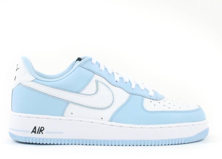 Wmns Air Force 1 - Nike - 307109 118 - white/white-ice blue ...