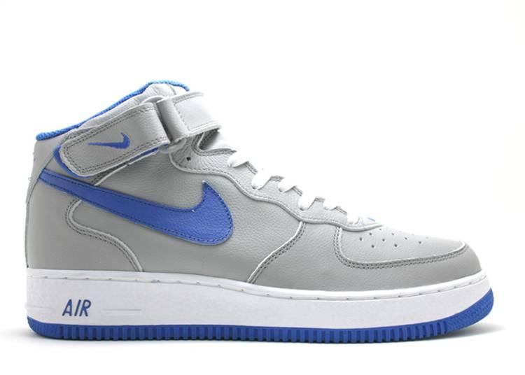 Nike Air Force 1 Mid blu