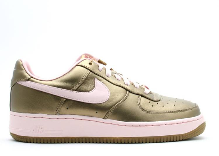 Wmns Air Force 1 Premium '07 'Gold Pink'