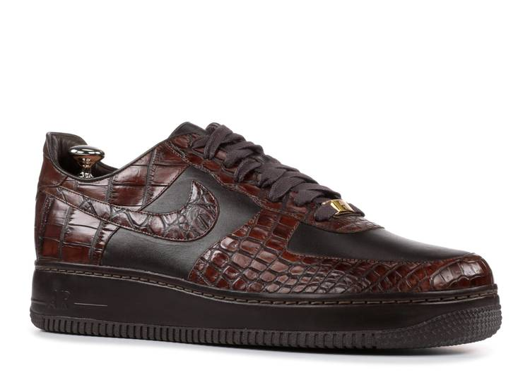 Air Force 1 Lux 07 'Crocodile' - Nike - 315583 221 - baroque brown ...