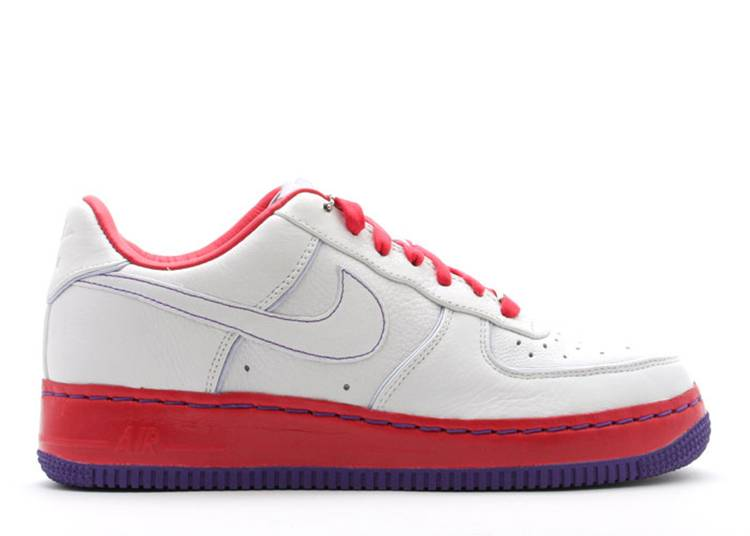 Wmns Air Force 1 Sprm I/O '07 'White Atomic Red'