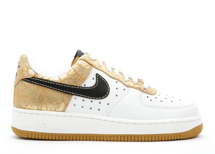Wmns Air Force 1 '07 'Metallic Gold'