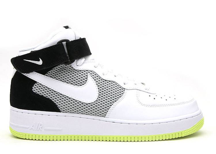 Air Force 1 Mid '07 'Neon Yellow'