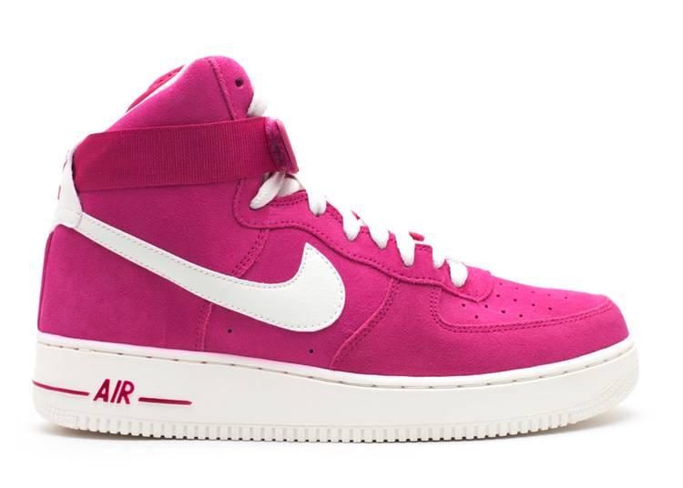 Nike Air Force 1 High fuxia