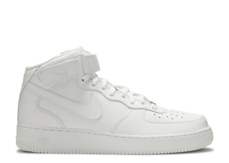 """air force 1 mid 07 """"White"""""""