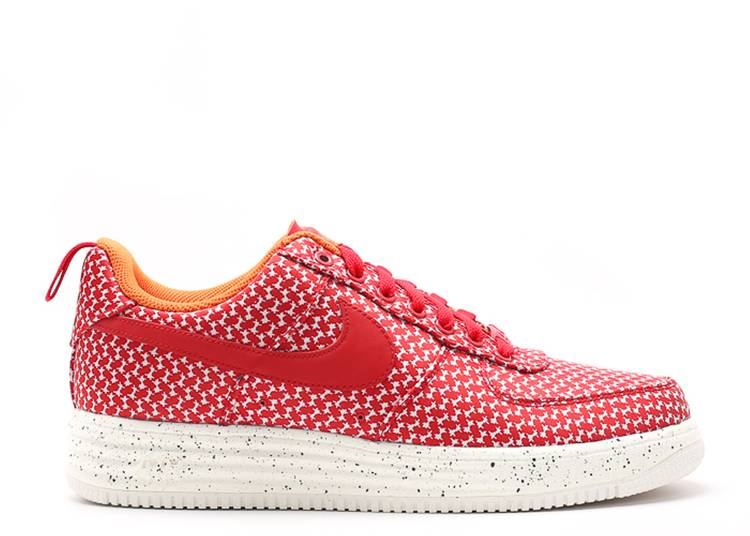 UNDFTD x Lunar Force 1 Low 'University Red'
