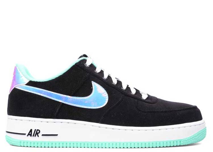 air force 1 green glow
