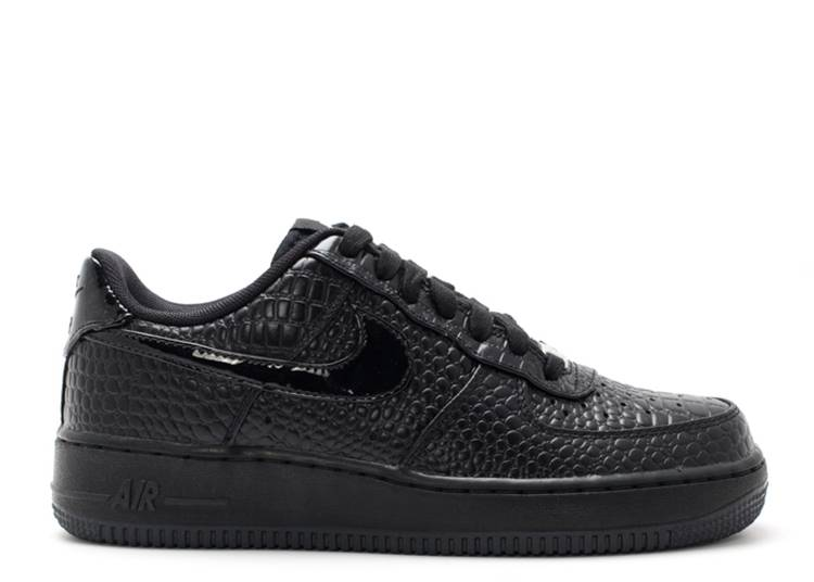 Wmns Air Force 1 '07 Prm 'Black Metallic Silver'
