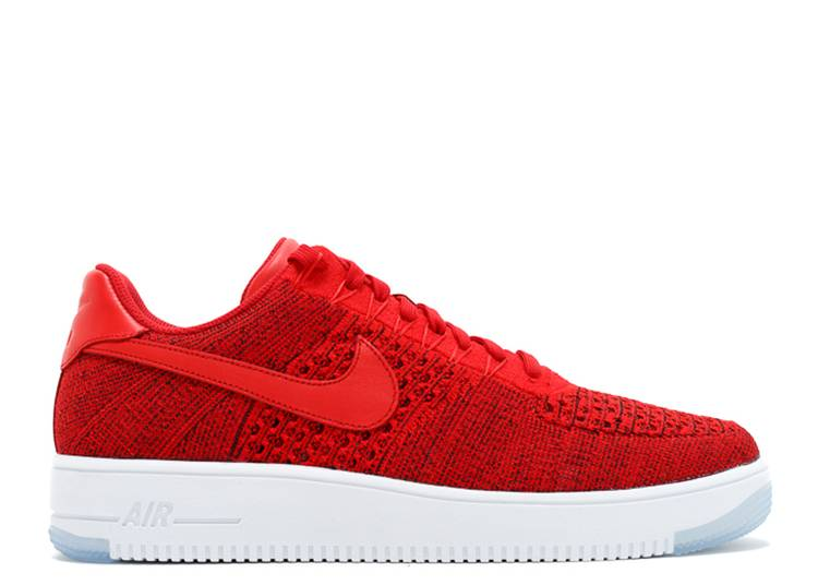Intacto A bordo Español  Air Force 1 Ultra Flyknit Low 'Red' - Nike - 817419 600 - university red/university  red-white | Flight Club