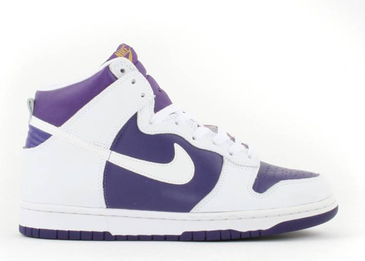 pavo esencia entidad  Dunk High Le - Nike - 630335 511 - varsity purple/white | Flight Club