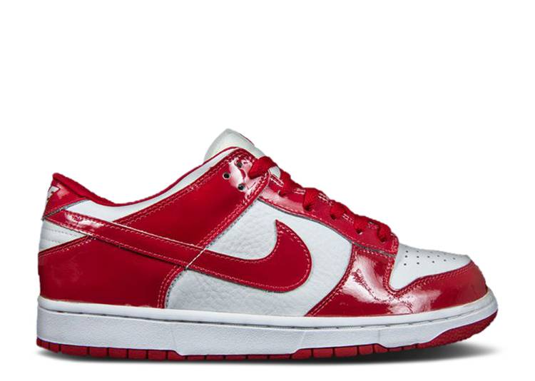 Dunk Low 'White Varsity Red'