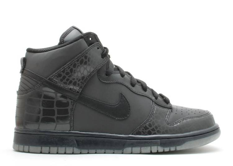 Dunk High 'Reflector Croc'