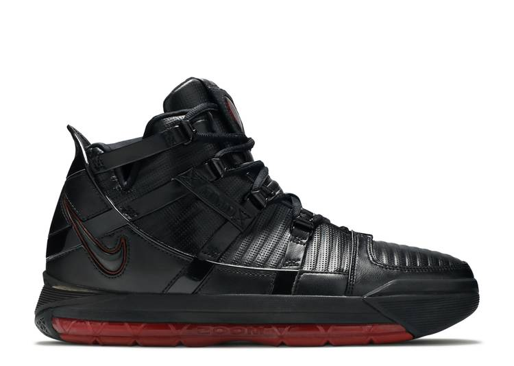 Zoom LeBron 3 'Black Crimson'
