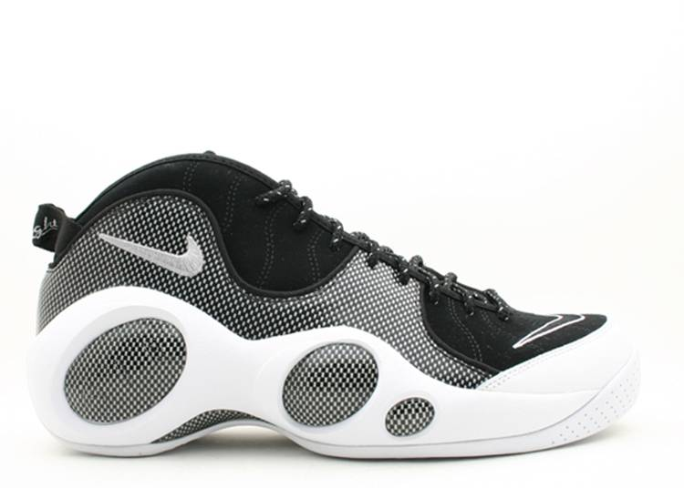 Air Zoom Flight 95 Premium 'Black White' 2008