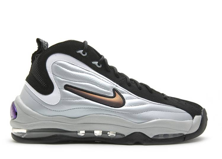 Cirugía Aprovechar Lanzamiento  Air Total Max Uptempo 'Metallic Silver Black' - Nike - 366724 001 -  metallic silver/black/white | Flight Club