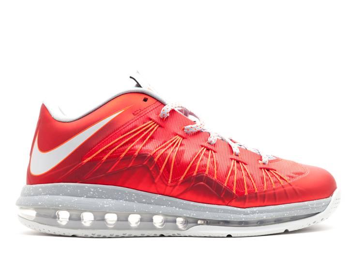Air Max LeBron 10 Low 'University Red'