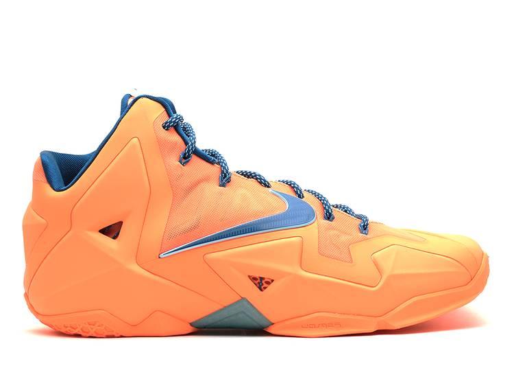 LeBron 11 'Atomic Orange'