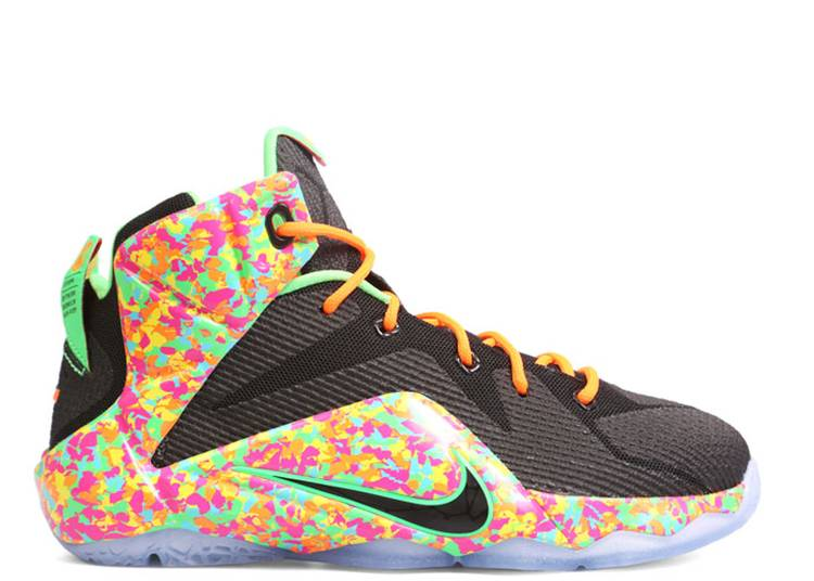 LeBron 12 GS 'Cereal'