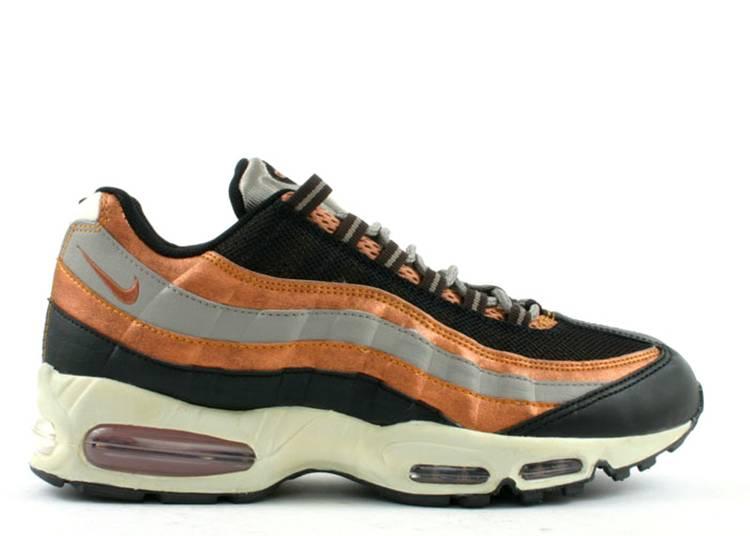 Air Max 95 'Bronze' - Nike - 307272 081 - black/metallic copper ...