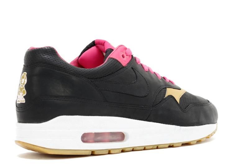 Kid Robot X Air Max 1 - Nike - 311745 001 - black/black/hot pink ...