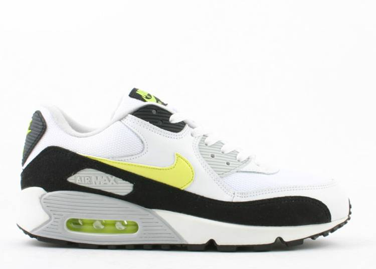 Air Max 90 - Nike - 307905 131 - white/hot lime-black-neutral grey | Flight  Club