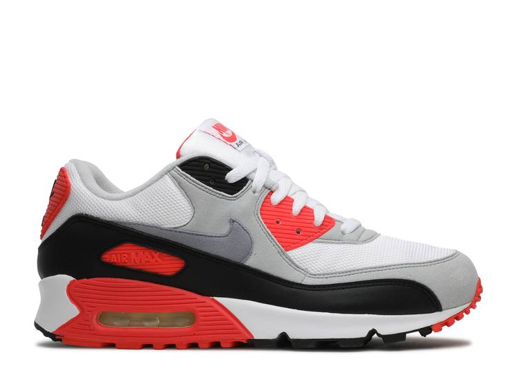purely Site line hail  Air Max 90 Classic HOA 'Infrared' 2005 - Nike - 313096 101 - white/cement  grey-infrared-black | Flight Club