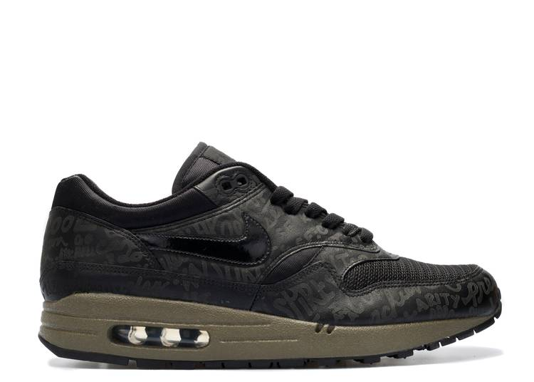 Air Max 1 'Powerwall - Black Olive'